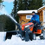 Снегоуборочные трактора