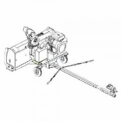 Bercomac 700457-1 Подрамник (subframe) с электролифтом для навесного оборудования