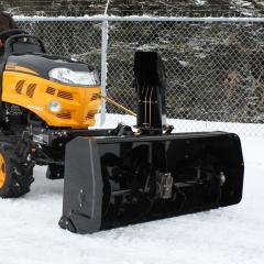Bercomac 700478 Роторный снегоуборщик для тракторов, ширина захвата - 122 см, электролифт, выброс - до 15 м