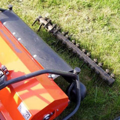 Husqvarna 9669684-01 Ударные ножи скарификатора, как аксессуар к цеповой косилке