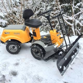 Акция: Stiga Park Comfort 16 2 WD + снегоотвал