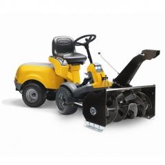 Профессиональный Райдер Stiga Park Compact 16 4 WD (полный привод) + снегоуборочная фреза