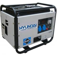 Бензиновый генератор в кожухе Hyundai HY6000SE