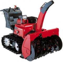 Профессиональный снегоуборочный трактор Honda HSM 1180IE Hybrid c двумя дополнительными гибридными двигателями