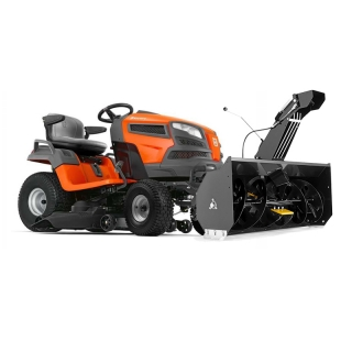 Садовый трактор Husqvarna TS346 + снегоотбрасыватель