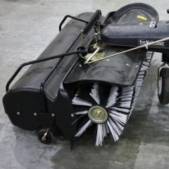 AD-200-001TS Щетка с мусоросборником ТК520 передняя для тракторов + AN-109-002TS + AN-009-001TS + AN-001-001TS