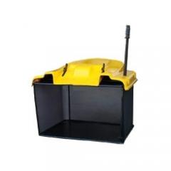 Cub-Cadet 596-205-600 Травосборник 350 л. желтый пластик, жесткий, с ручной выгрузкой