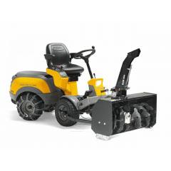 Промышленный Райдер Stiga Park Pro 20 4WD + снегоуборочная фреза