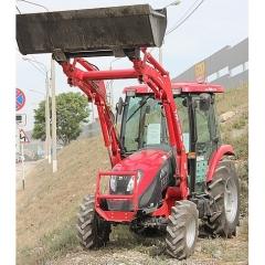 Трактор TYM T433 с кабиной + фронтальный ковш-погрузчик