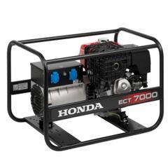 Бензиновый генератор Honda ECT 7000 GV