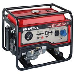 Бензиновый генератор Honda EM 5500 CXSG