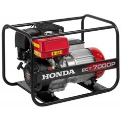 Бензиновый генератор Honda ECT 7000 P GV