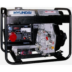 Дизельный генератор Hyundai DHY6000LE Авто