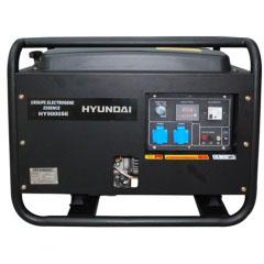 Дизельный генератор в кожухе на колесах Hyundai DHY6000SE Авто