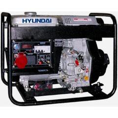 Дизельный генератор Hyundai DHY6000L