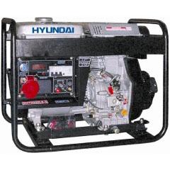 Дизельный генератор Hyundai DHY6000LE-3 Авто