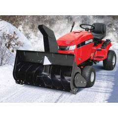 Садовый минитрактор Snapper ELT18RD40 (ELT1840RD) + cнегоотбрасыватель 106 см
