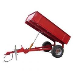 Прицеп тракторный опрокидывающийся, одноосный, макс грузоподъемность 900 кг TL-1000