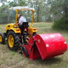 Косилка навесная цеповая со сбором травы в бункер FC120