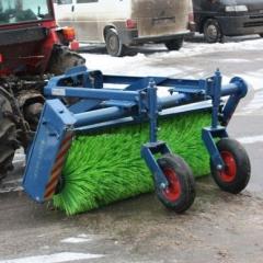 Щетка задняя МКЩ-1,5 для тракторов Shibaura, Snapper (Россия)