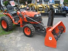 Трактор бу Kubota b 7610 + роторный снегоуборщик