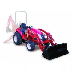 Трактор для уборки снега TYM T233 + ковш-погрузчик фронтальный
