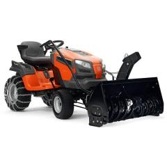 Садовый трактор Husqvarna YTH 224T + Снегоотбрасыватель