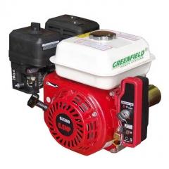 Двигатель для мотоблоков Greenfield GF 168FE-1 (GX200)