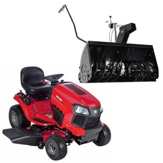 Садовый трактор Craftsman 20383 + роторный снегоуборщик 24837