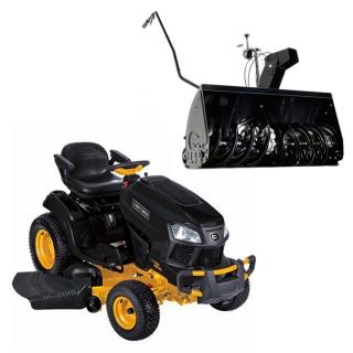 Садовый трактор Craftsman 96645 (Серия G7400) + снегоуборочная фреза