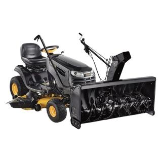 Садовый трактор Parton PA20VA46 + снегоуборочный ротор (2 цилиндра)